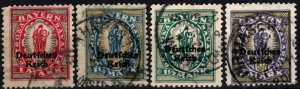 Bavaria #266-9   F-VF Used CV $13.00 (X4816)
