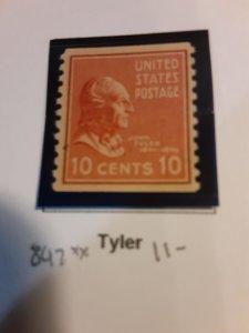 United States #847             MNH