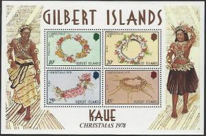 Gilbert Islands #320a MNH Souvenir Sheet