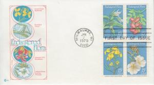 1979 Endangered Flora (Scott 1783-6a) Cover Craft FDC