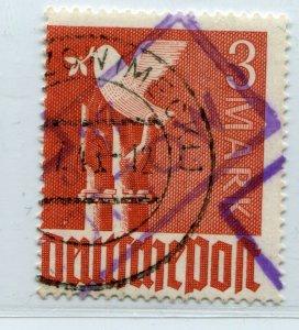 GERMANY SOVIET ZONE HOP BEZIRKSHANDSTEMPEL BEZIRK 37 II c VIII PERFECT VFU 128