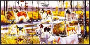 Malawi 2012 Hunting Dogs Mammals Animals Fauna Farm Domestic Pet Stamps MNH (3)