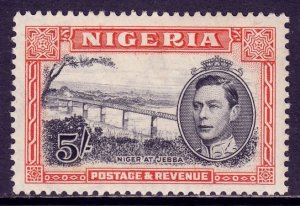 Nigeria - Scott #64 - MH - Gum toning - SCV $3.00