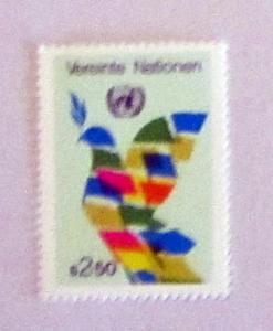 UN, Vienna - 8, MNH, Complete. Dove. SCV - $0.25