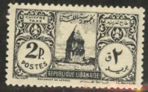 LEBANON Scott J44 MNH** 1948 postage due