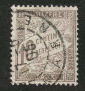Tunis Tunisia Scott J4 used 1901 postage due
