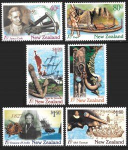 New Zealand # 1413 - 18 Mint Never Hinged