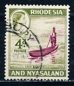 Rhodesia & Nyasaland #163 Single Used