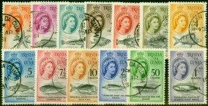 Tristan Da Cunha 1961 Set of 13 SG42-54 V.F.U