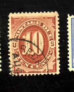 U.S. # J19 USED F-VF Cat $35