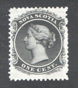 NOVA SCOTIA #8a, VF, Mint (NH).  CV 20.00   ....   4590007
