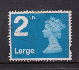 GB 2006 - 07 QE2 2nd Large Letter Blue Machin  ( G306 )