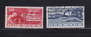 Denmark 372-373 U Farming