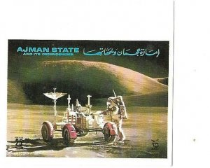 AJMAN STATE SPACE STAMP # 2