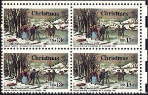 1702 Mint,OG,NH... Block of 4... SCV $1.00