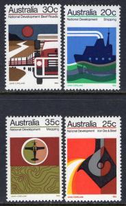Australia 550-553 MNH VF
