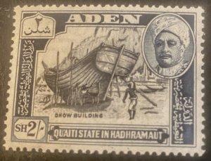 Aden Scott 38 State of Hadhramaut 2 Schilling-Mint NH