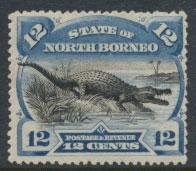 North Borneo  SG 75 SC# 65 MH   perf  14½  see scan & details