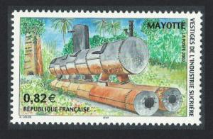 Mayotte Remains of the Sugar Industry 1v SG#174