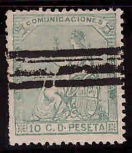 SPAIN Scott 193 Used with Bar cancel