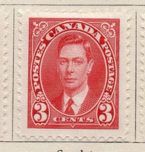 Canada 1937 Early Issue Fine Mint Hinged 3c. 057410