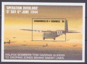 1994 Dominica 1900/B274 Airplanes - World War II 6,50 €