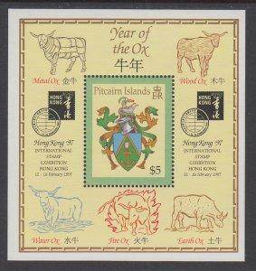 Pitcairn Islands 463 Souvenir Sheet MNH VF