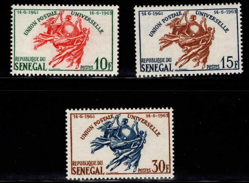 Senegal Scott 218-220 MH* stamp