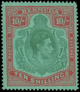 Bermuda Scott 126b Gibbons 119b Mint Stamp