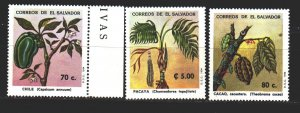 Salvador. 1994. 1950-53 in a series. edible plants. MNH.