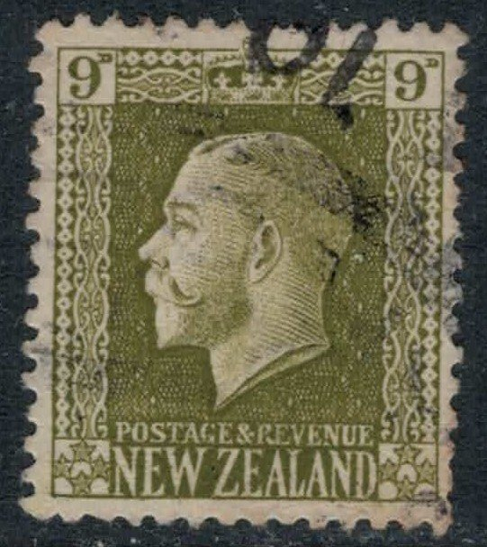 New Zealand #158  CV $5.00