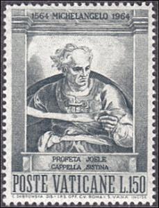 Vatican City # 391 mnh ~ 150 l Joel, by Michelangelo