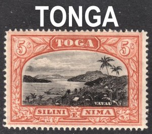 Tonga Scott 52  wtmk 79  F to VF mint OG HR.