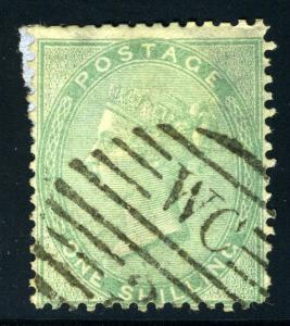 GREAT BRITAIN SCOTT# 28 USED QUEEN VICTORIA AS SHOWN