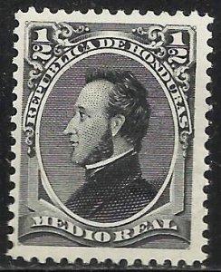Honduras 1878 Scott# 32 MH