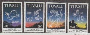 Tuvalu Scott #586-589 Stamps - Mint NH Set
