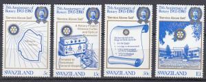 Swaziland - 1980 Rotary Sc# 342/345 - MNH (1114)
