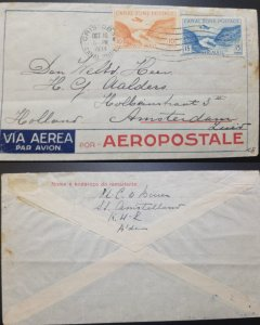J) 1934 CANAL ZONE, LANDSCAPE, BOAT, AIRPLANE, MULTIPLE STAMPS, AIRMAIL, CIRCULA