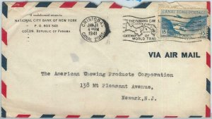 72369 - USA : Panama Canal Zone - POSTAL HISTORY -  COVER from CHRISTOBAL  1941