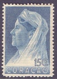 Curacao  1936  MH   #135  Wilhelmina   15 ct