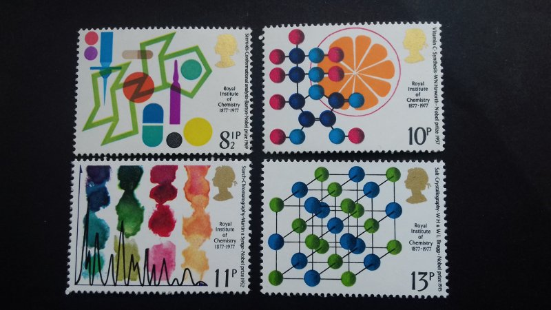 Great Britain 1977 British Nobel Prize Winners in Chemistry Mint