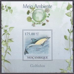 2010 Mozambique 3641/B311 Dolphins10,00 €