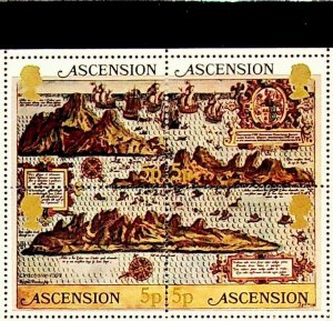 Ascension MNH 289 Early Maps 1981