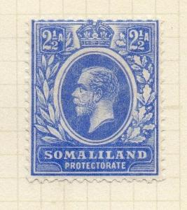Somaliland Protectorate 1921 Early Issue Fine Mint Hinged 2.5a. 297835