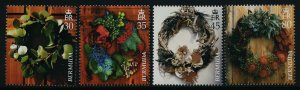 Bermuda 929-32 MNH Christmas Wreaths
