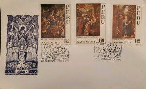 O) 1970 PERU, CHRISTMAS, NATIVITY CUZCO, ADORATION THE KING, ADORATION OF THE...