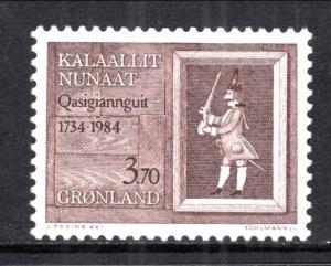 Greenland 161 MNH VF