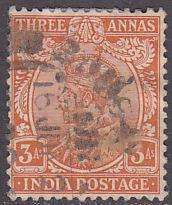 India 86 Hinged Used 1911 King George V