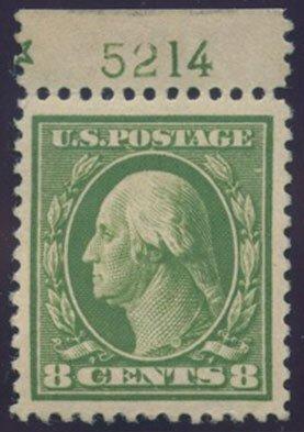 US Scott #414 Mint, VF/XF, Hinged