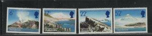 Falkland Islands Dependencies #IL84-87 (1984 Volcanos set) VFMNH CV $7.50
